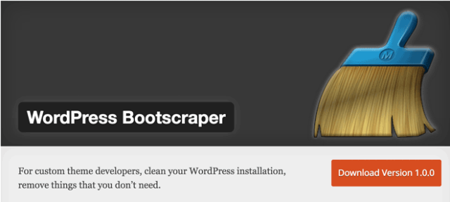 wordpress-bootscraper