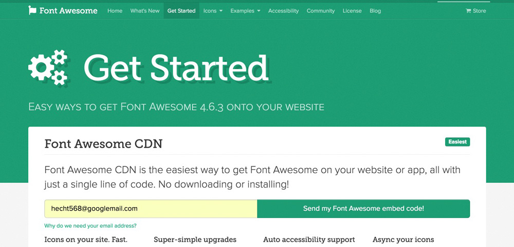 font-awesome-install