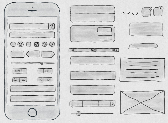 hand-drawn kit for iphone6