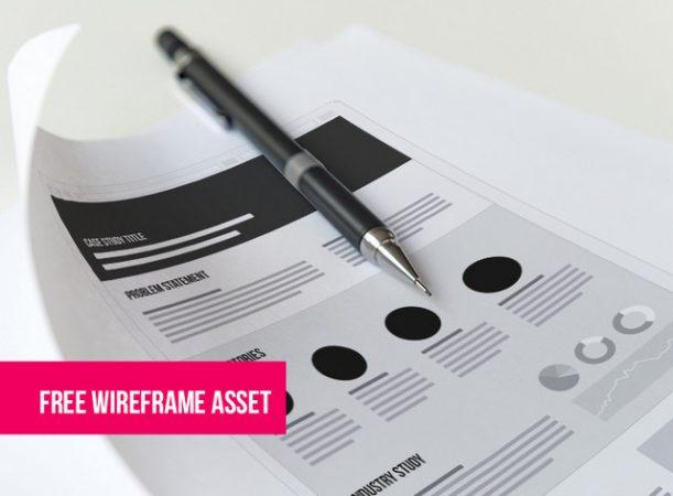printable wireframe asset