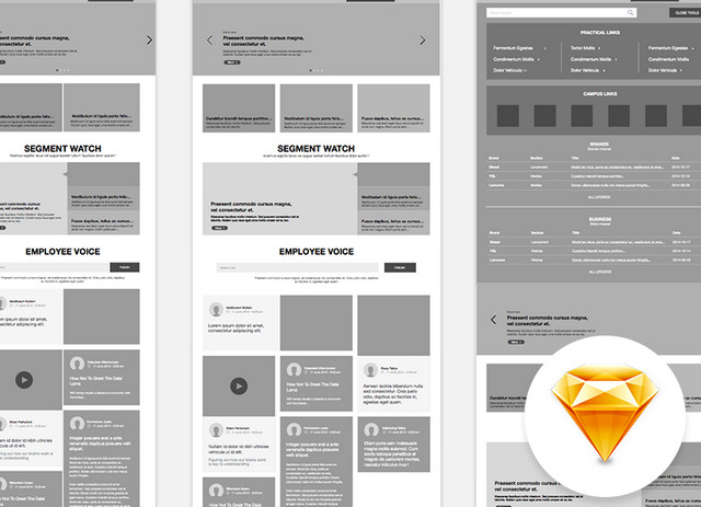 sketch wireframe
