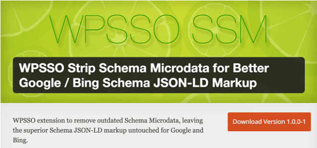 WPSSO Strip Schema Microdata for Better Google / Bing Schema JSON-LD Markup