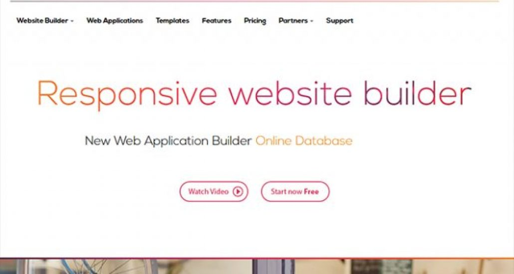 database driven website templates