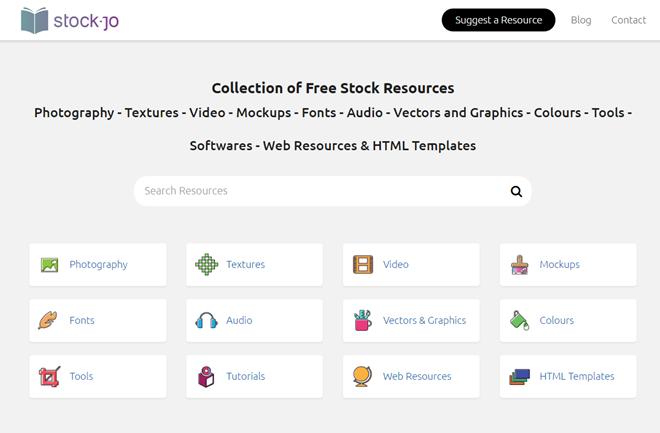 StockJo: Landing Page