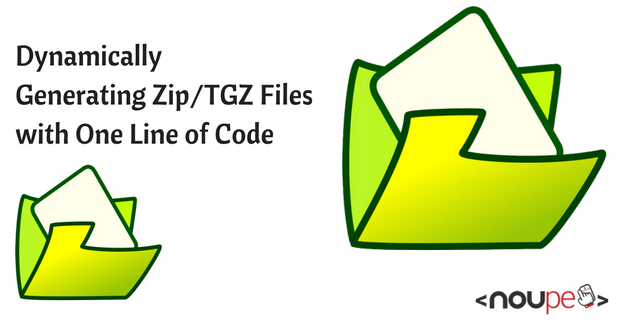 Dynamically Generating Zip FTGZ Files with One Line of Code