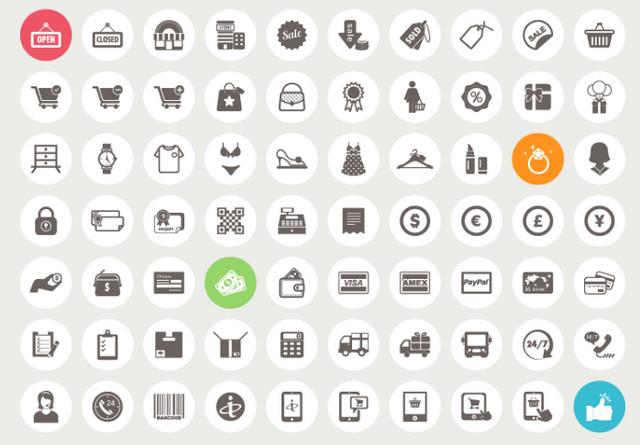 70-ecommerce-icons