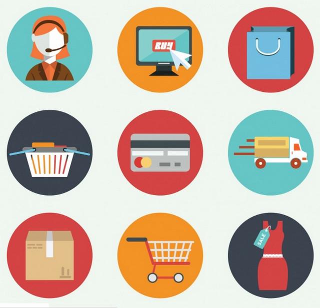 bright-flat-ecommerce-icons