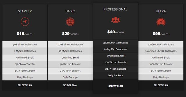 dark-themed-pricing-table
