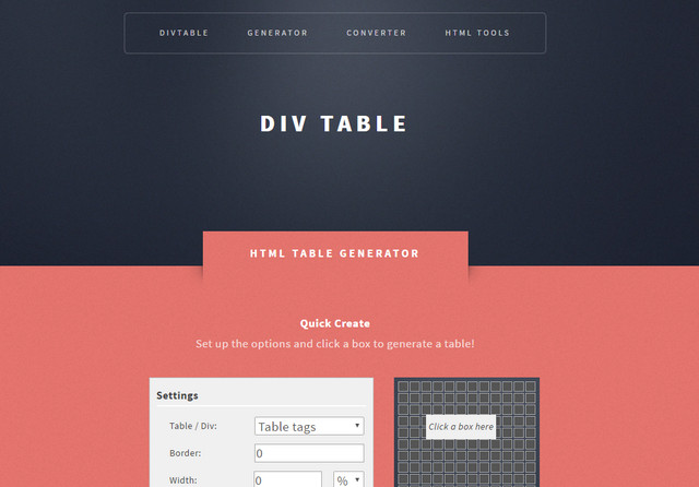 div-table