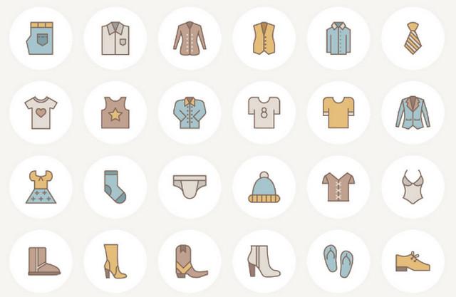 fashion-icon-set
