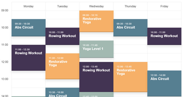 schedule-template