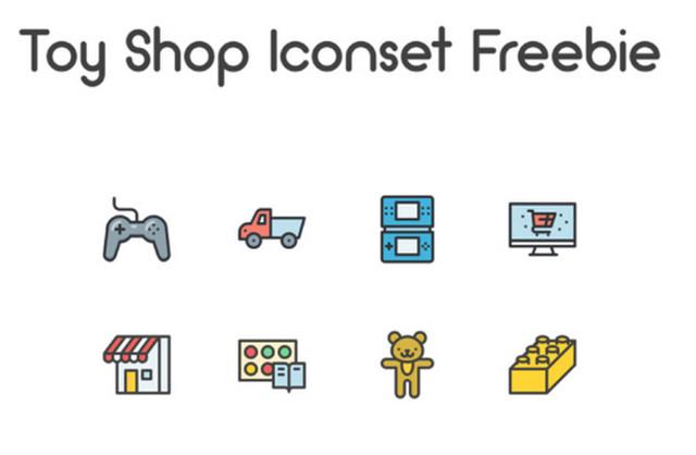 toy-shop-icon-set