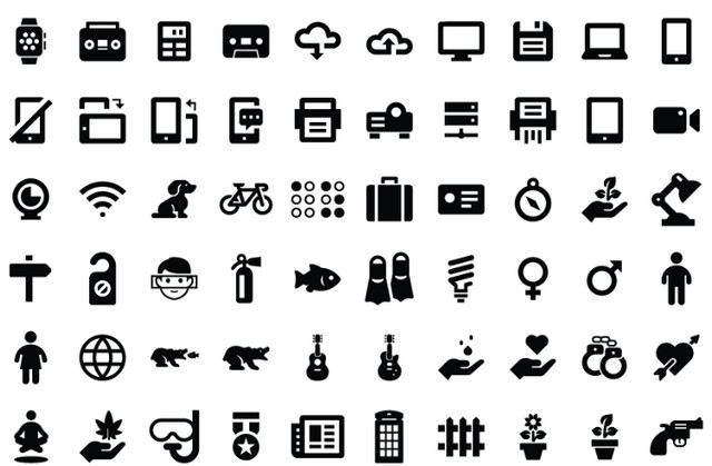 2016 Revisited: The 100 Best Free Icon Packs of the Year