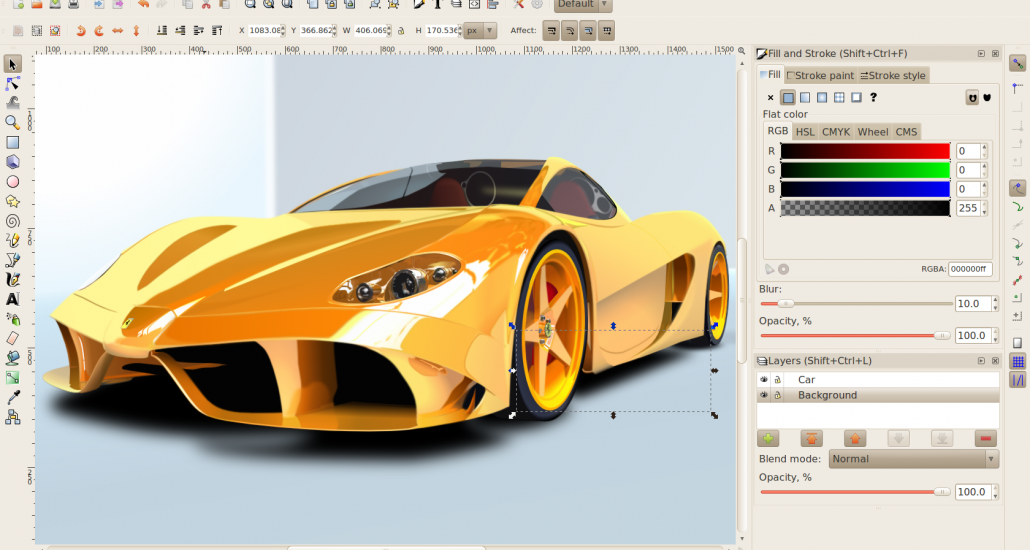Inkscape New Version Of The Free Vector Graphic