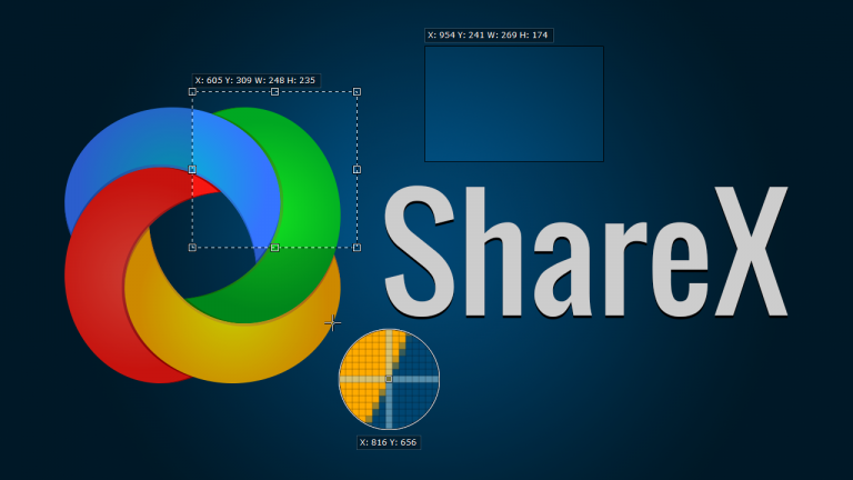 ShareX: Different Capture Methods. (Screenshot: ShareX)