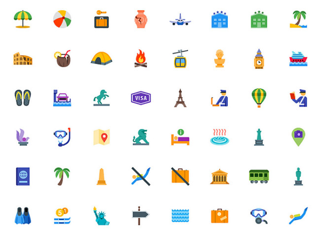2016 Revisited: The 100 Best Free Icon Packs of the Year | NOUPE