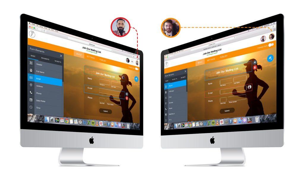 JotForm 4: Real-time Collaboration. (Photo: JotForm)
