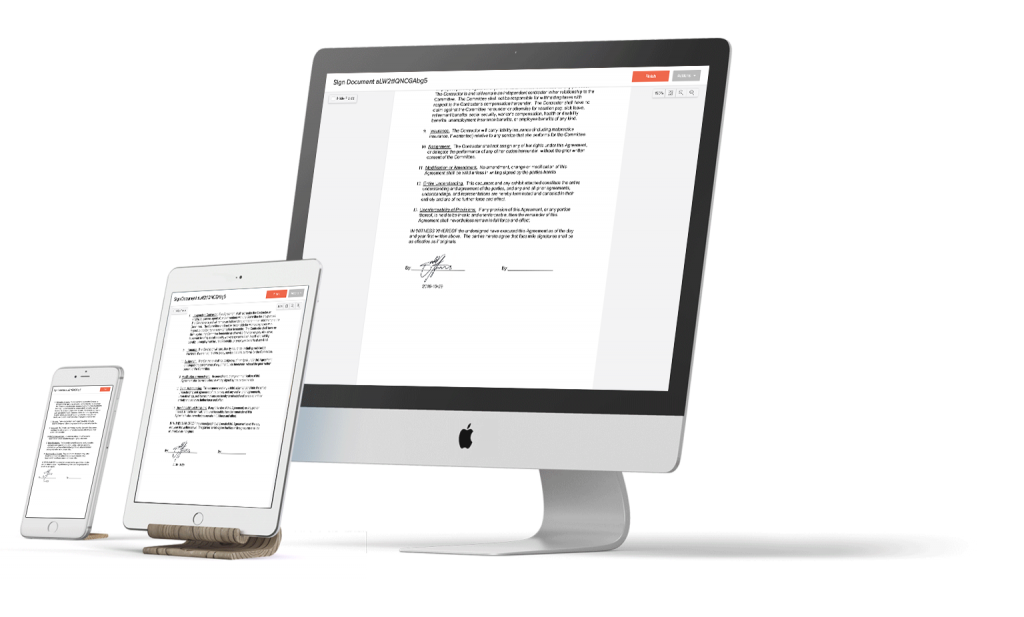 eversign attaches audit trail to every document pdf