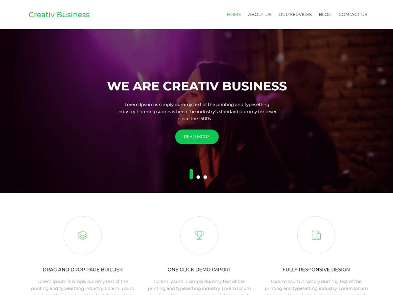 Das Creative Business Theme