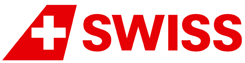 "Swiss International Airlines ""SWISS"" Airline Logo"