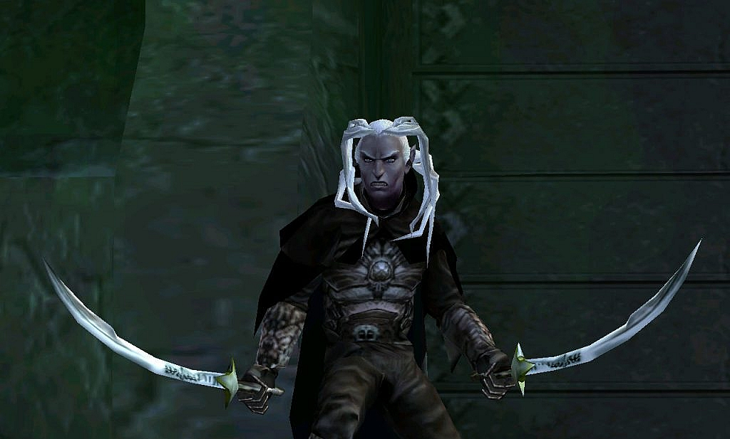 drizzt do'urden in demon stone