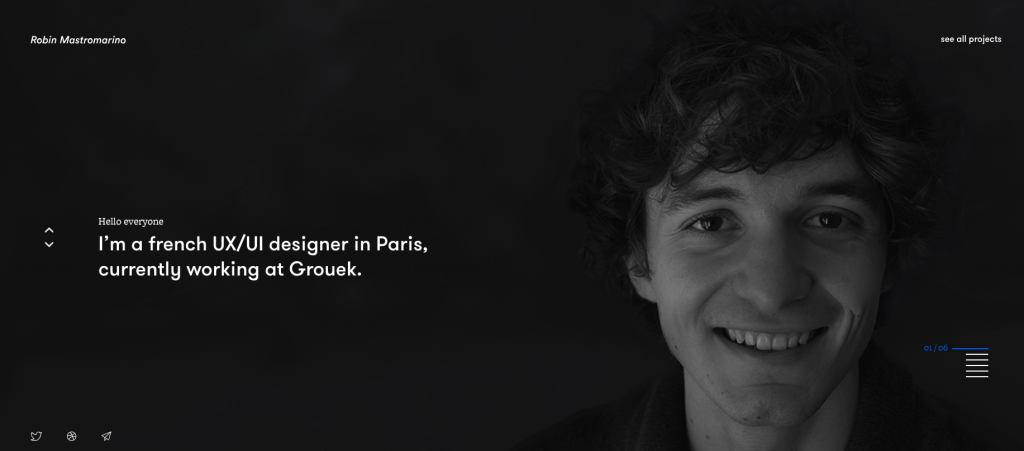 Web Developer Portfolio of Robin Mastromarino