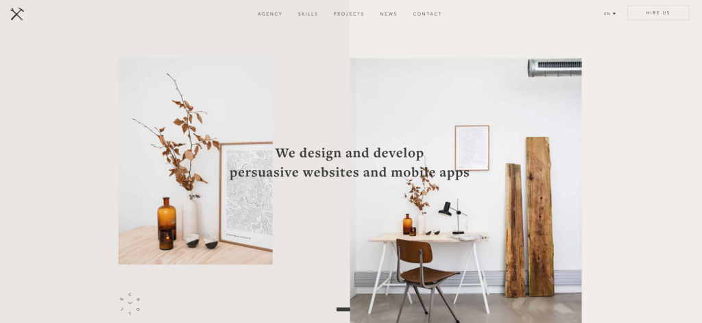 Web Developer Portfolio of Agence Belle-Epoque
