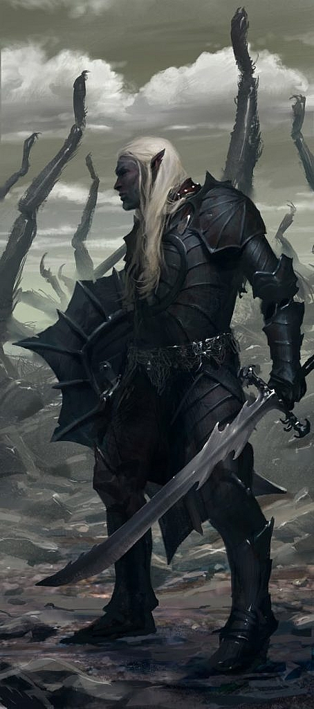 drizzt do'urden illustration