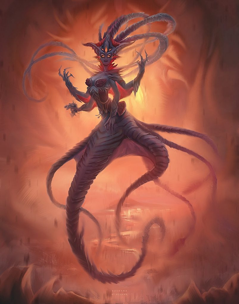 World of Warcraft Art Azshara
