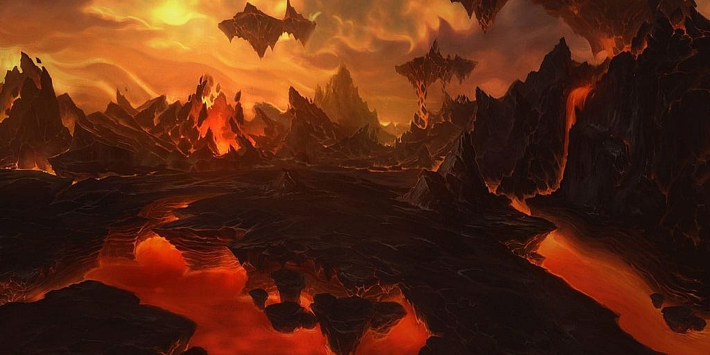 World of Warcraft Art The Firelands