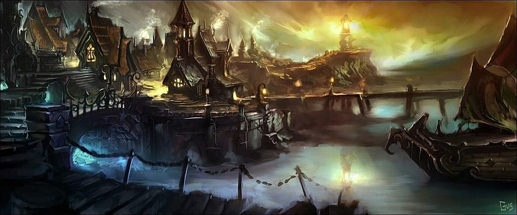 World of Warcraft Art Gilneas