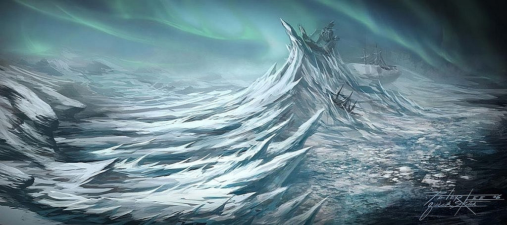 World of Warcraft Art Icecrown Glacier