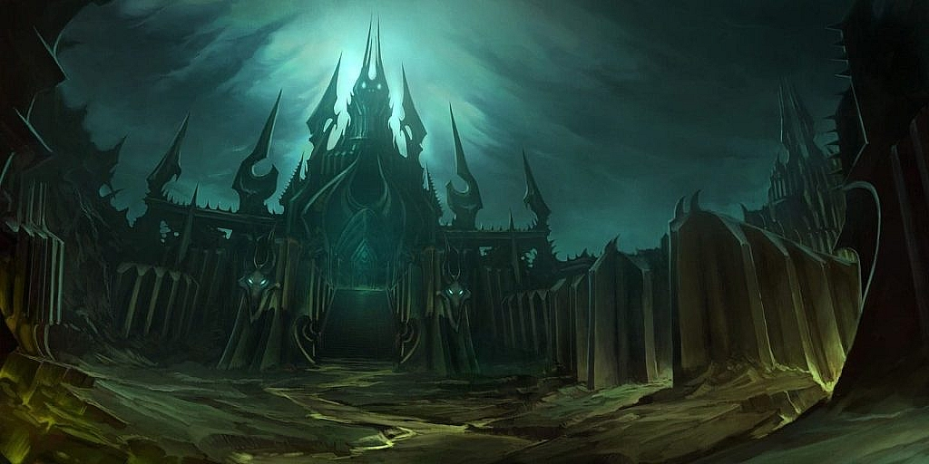 World of Warcraft Art Icecrown Citadel
