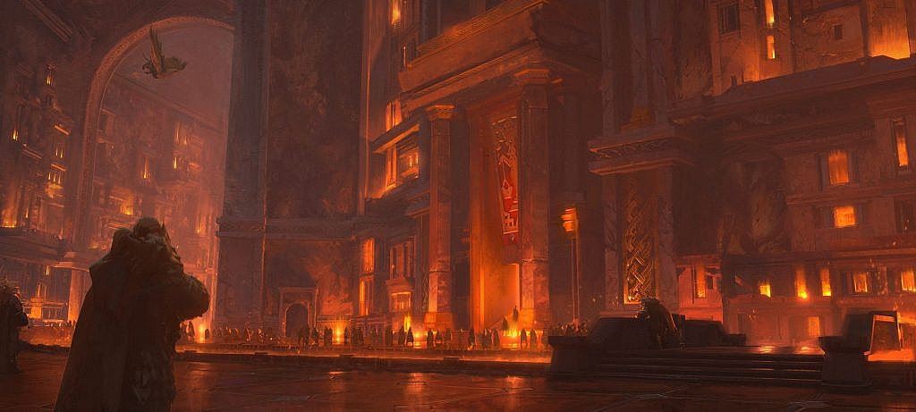 World of Warcraft Art Ironforge