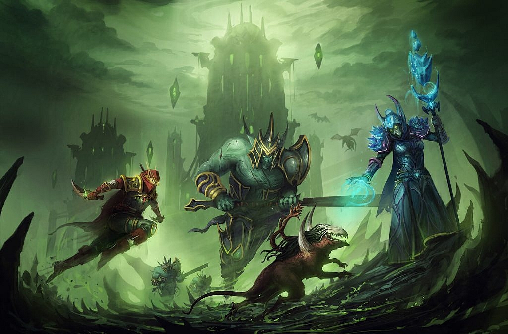 World of Warcraft Art The Broken Shore