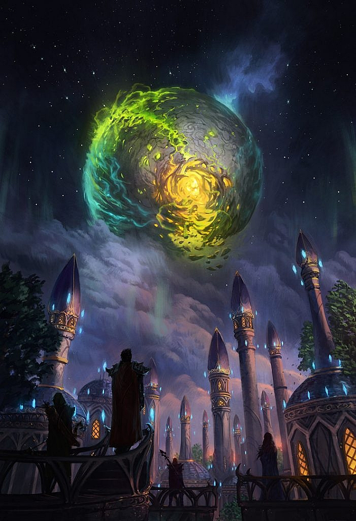 World of Warcraft Art Argus
