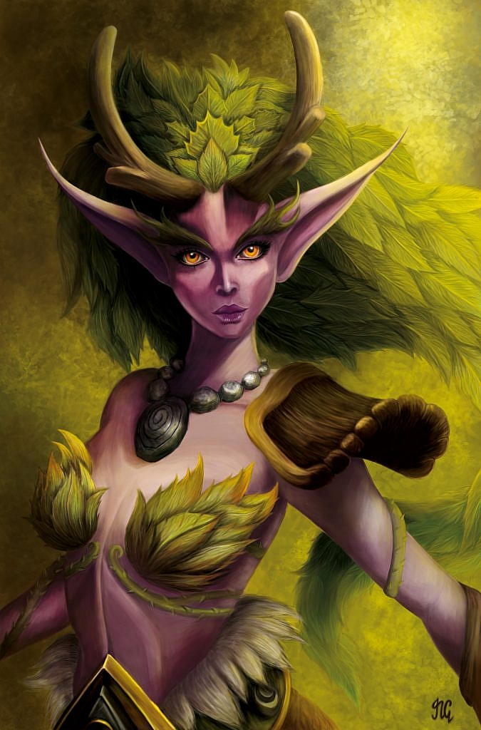 World of Warcraft Art Lunara