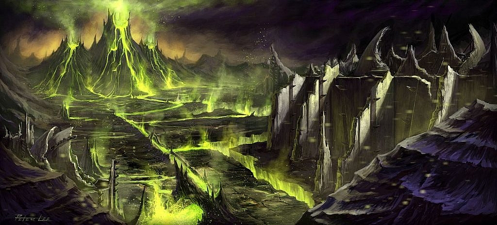 World of Warcraft Art The Black Temple