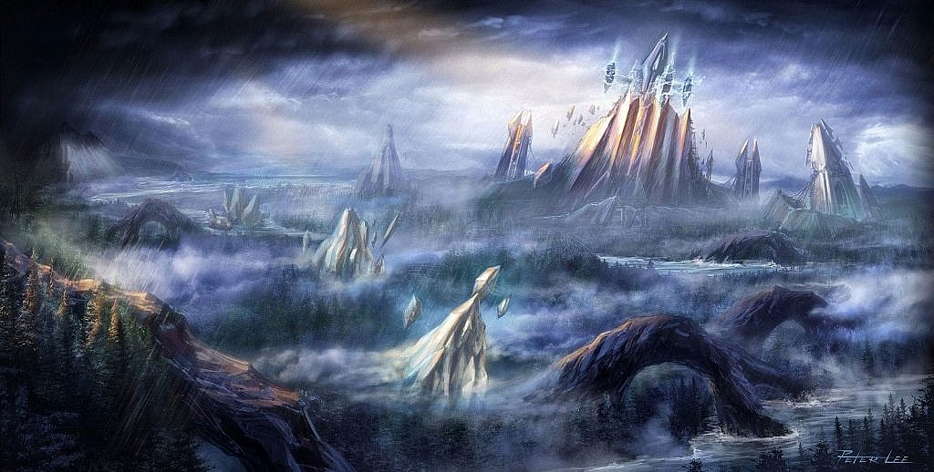 World of Warcraft Art The Exodar