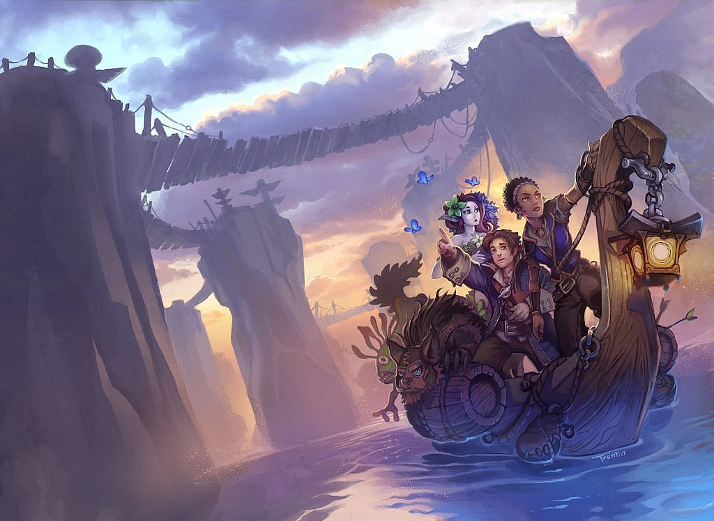 World of Warcraft Art Traveler