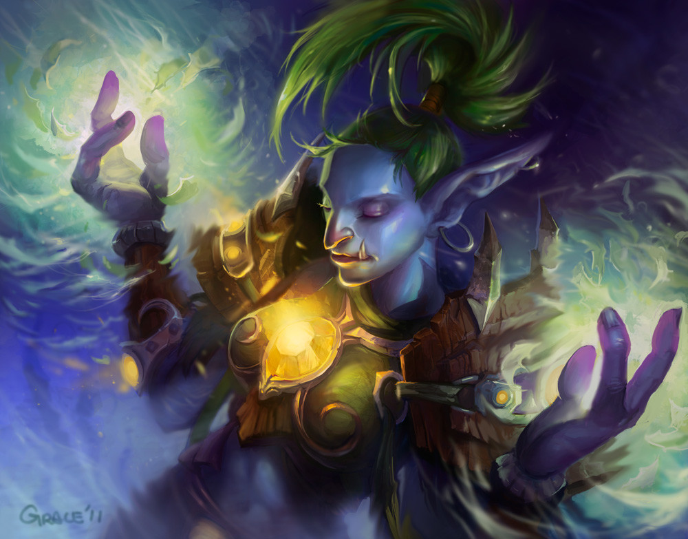 World of Warcraft Art Troll Druid