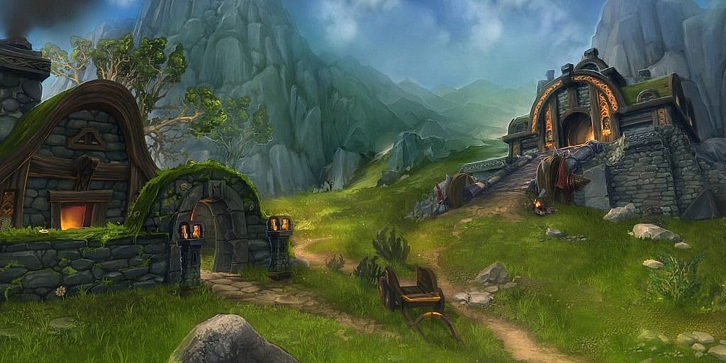 World of Warcraft Art Twin Peaks