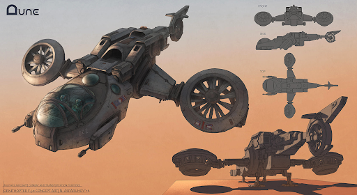 DUNE Ornithopter Concept