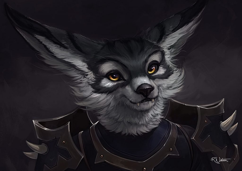 World of Warcraft Art Vulpera Art