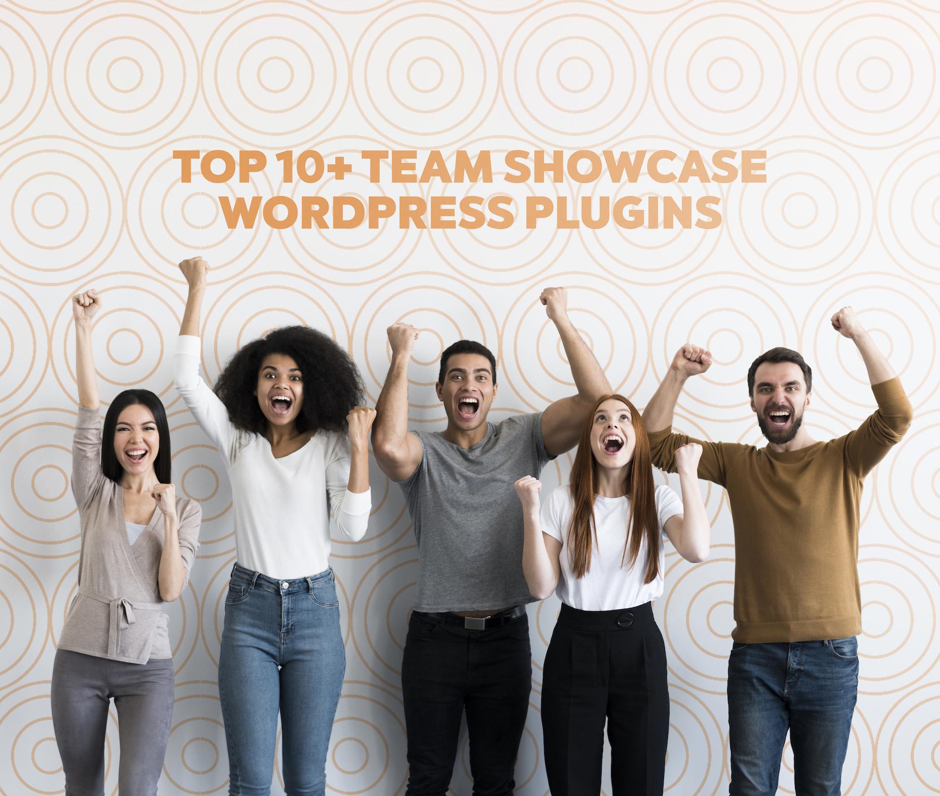 Top 10+ Team Showcase WordPress Plugins