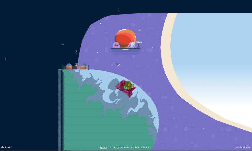 Doing siesta in space in Manyland