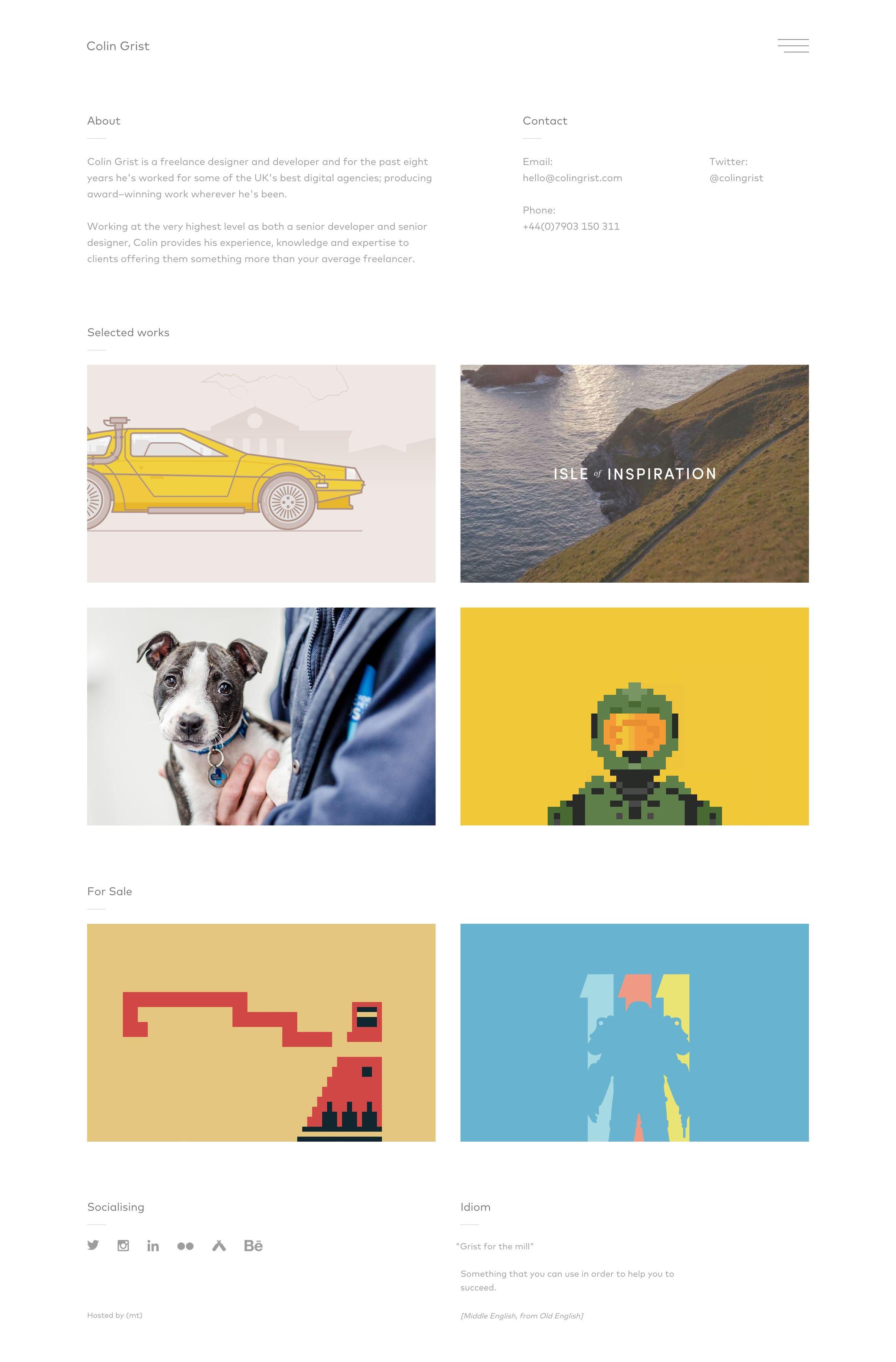 Colin Grist portfolio