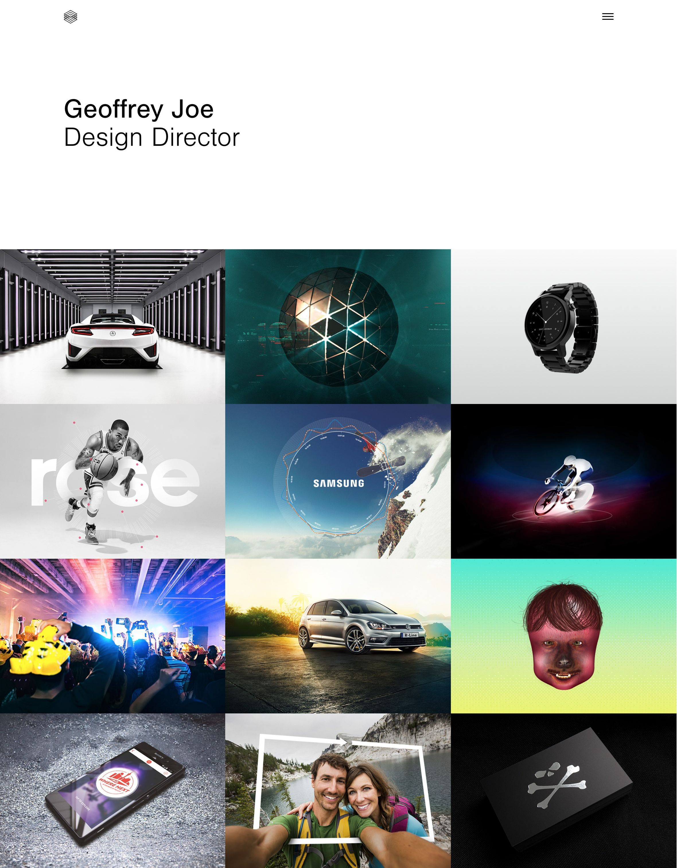 Geoffrey Joe portfolio