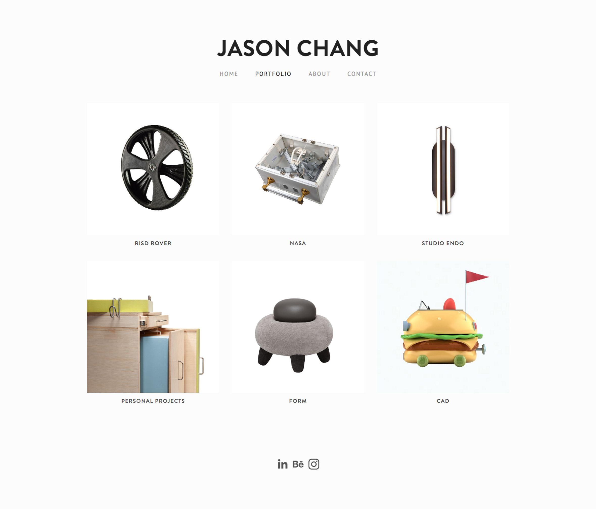 Jason Chang portfolio