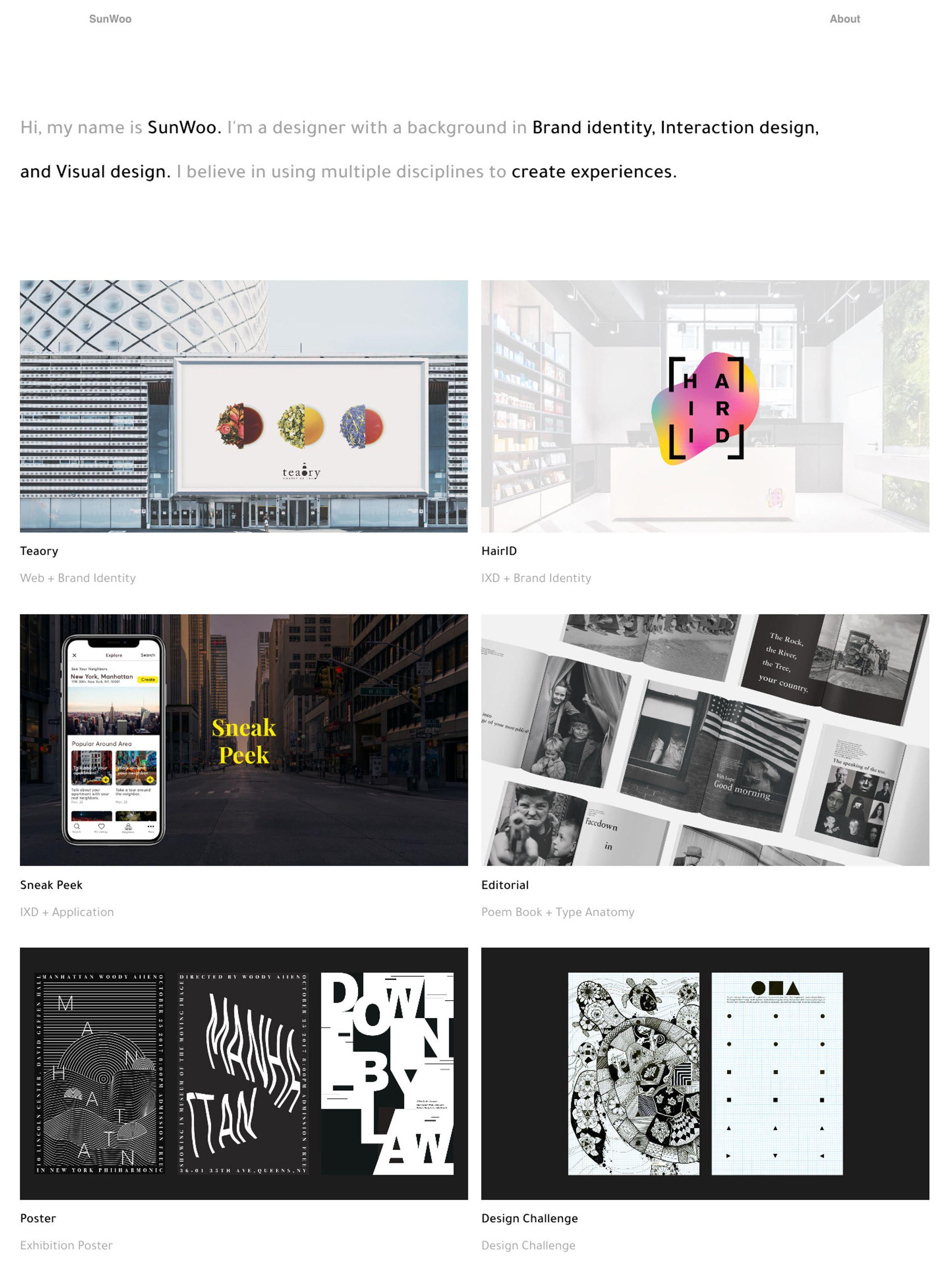 SunWoo Park portfolio